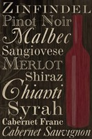 Red Red Wine Bottles Fine-Art Print