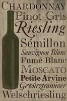 White White Wine Bottle Fine-Art Print
