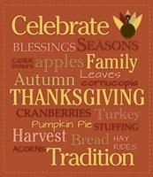 Celebrate Thanksgiving Fine-Art Print