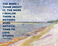 Love Others -Van Gogh Quote Fine-Art Print