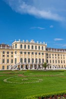 Schonbrunn Palace, Garden Fine-Art Print