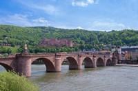 Carl Theodor Bridge, Heidelberg Castle Fine-Art Print