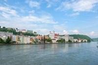 Danube River, Passau Fine-Art Print