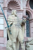 Sculpture of Frederick IV, Heidelberg Castle Fine-Art Print