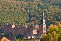 Heidelberg's Old Town, Germany Fine-Art Print