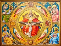 Altar Painting, Cologne, Germany Fine-Art Print