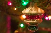 Christmas Tree Ornaments Fine-Art Print