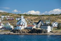 Fishing Village in Labrador Fine-Art Print