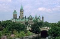 Parliament Building in Ottawa Fine-Art Print