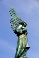 View of Angel in Quebec, Montreal Fine-Art Print