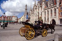 Horsedrawn Carriage Ride, Belgium Fine-Art Print