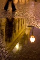 Municipal House Reflection, Czech Republic Fine-Art Print