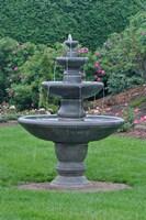 Fountain at KIngsbrae Garden Fine-Art Print
