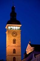 Church Tower, Ceske Budejovice Fine-Art Print
