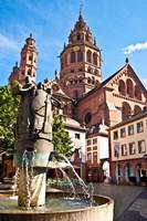 Saint Martin's Cathedral, Mainz, Germany Fine-Art Print
