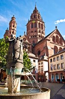 Saint Martin's Cathedral, Mainz, Germany Fine-Art Print