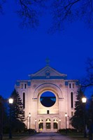 St Boniface Basilica Ruins Fine-Art Print