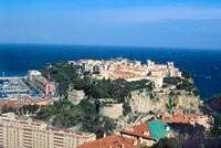 Principality of Monaco at Monte Carlo, France Fine-Art Print