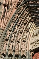 Details of the East Facade, Cathedrale Notre Dame Fine-Art Print