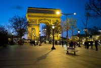 Arch of Triumph, Paris, France Fine-Art Print