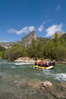 Rafting on Verdon River,  Provence, France Fine-Art Print
