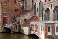 Canals, Bruges, Belgium Fine-Art Print