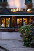 Chablis Bar Cafe, Chablis, Bourgogne, France Fine-Art Print