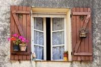 Wooden Shutters, La Turbie, Provence Fine-Art Print