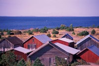 Boathouses of the Aland Islands, Finland Fine-Art Print