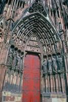 Cathedral Entrance, Strasbourg, France Fine-Art Print