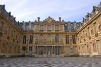 Marble Courtyard, Versailles, France Fine-Art Print