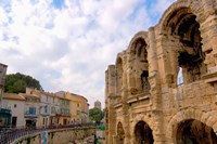 Roman Amphitheatre and Shops, Provence, France Fine-Art Print