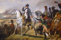 Painting of Napoleon in Hall of Battles Fine-Art Print