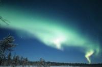 The Aurora Borealis, Lapland, Finland Fine-Art Print