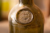Antique Wine Bottle with Molded Seal Fine-Art Print