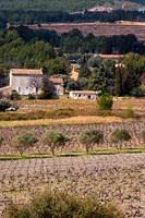 Provencal Village, Chateau Vannieres Fine-Art Print