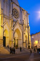 Ste Anne Cathedral, Montpellier Fine-Art Print