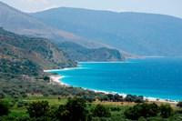 Ionian Sea and Borsh Beach Fine-Art Print