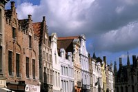 Buildings in Bruges, Belgium Fine-Art Print