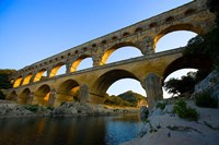 Sunrise Scenic of a Provence Region Town, France Fine-Art Print