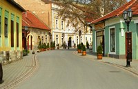 Main Street, Tokaj, Hungary Fine-Art Print