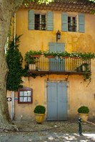 Home in Cucuron, Provence, France Fine-Art Print