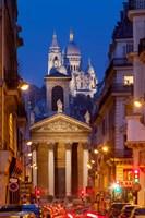 Notre Dame de Lorette and Basilique Fine-Art Print