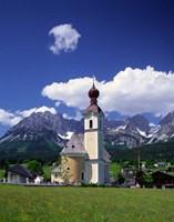 Church at Going, Tyrol, Austria Fine-Art Print