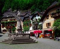 Village of Hallstatt, Salzkammergut, Austria Fine-Art Print