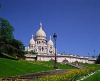 Sacre Coeur, Montmartre, Paris, France Fine-Art Print