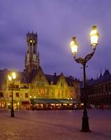 Burg Square, Bruges, Belgium Fine-Art Print