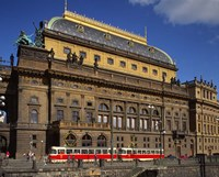 National Theatre, Prague, Czech Republic Fine-Art Print