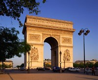 Arc de Triomphe, Paris, France Fine-Art Print