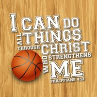 I Can Do All Sports - Basketball Fine-Art Print